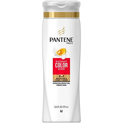 Pantene Pro-V Color Preserve Shine 2-in-1 Shampoo & Conditioner 12.6 oz (Pack of 9)