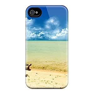 Romantic Area A Day At The Beach Widescreen Feeling Iphone 4/4s On Your Style Birthday Gift Cover Case