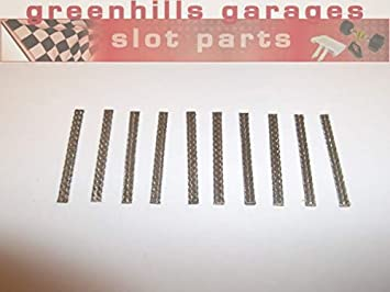 Greenhills Micro Scalextric & Slot Car Tinned Copper Pick Up Braids / Brushes x 10 - New - G2144: Amazon.es: Juguetes y juegos