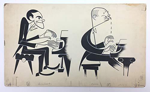 [Brailowsky, Alexander. (1896?1976) & Barere, Simon. (1896?1951)] Norkin, Sam. (1917?2011): Original Drawing