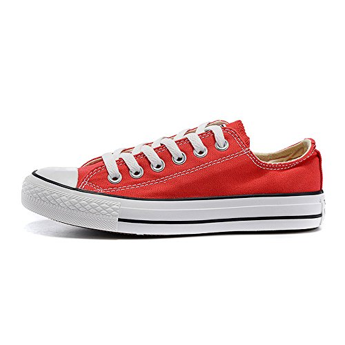 Canvas Breathable Canvas Shoes Lovers Shoes Summer Men's Red Shoes Casual 2017 Women R5qn0Z4w