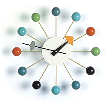 George Nelson Ball Clocks by Vitra, Color = Multi