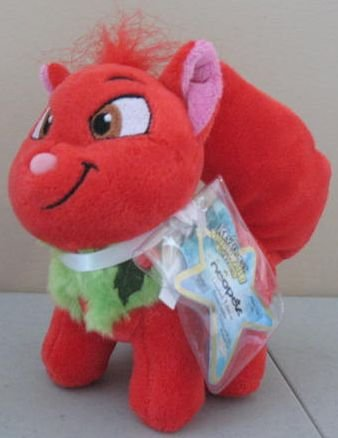 Neopets Collector Species Series 5 Plush with Keyquest Code Christmas Wocky (Limited Edition)