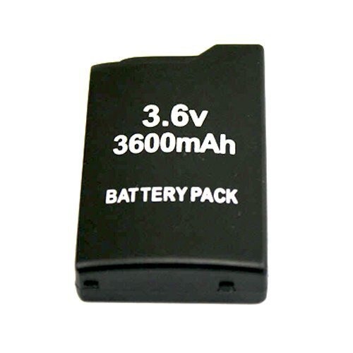 Importer520 Replacement 3600mAh Battery for Sony PSP PSP-110 PSP110 PSP-1000 FAT Game Player ()
