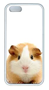 Guinea pig TPU White Personalized custom iphone 5S covers for Apple iPhone 5/5S