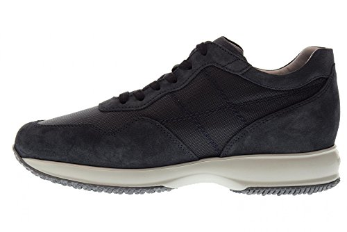 Sneakers Hogan Basse Blu HXM00N0AI4067A3735 Scarpe Scarpe Denim Uomo Hogan Interactive xqwdZIg1Z