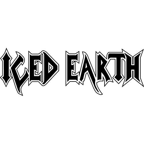 (Iced Earth Die-Cut Decal Sticker Band Logo)
