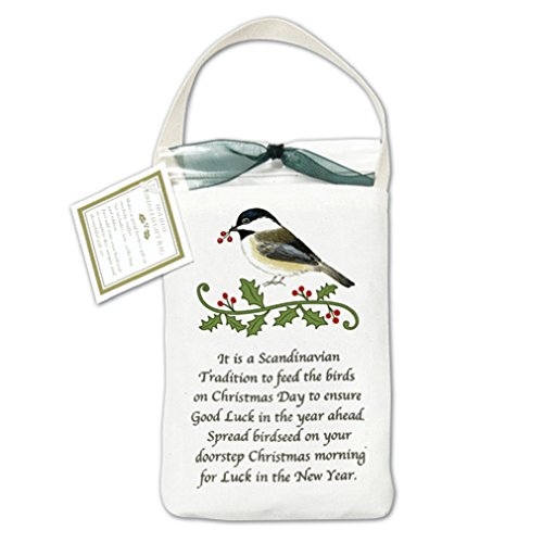 Bird Seed Cottage - Chickadee Bird Seed Bag, Complete with Bird Seeds, 501