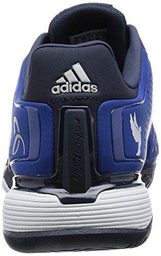 adidas Novak Pro, Zapatillas de Deporte Exterior para Hombre Azul / Blanco / Amarillo (Reauni / Ftwbla / Amabri)