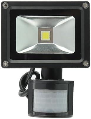 amzdeal® Foco proyector 10W blanco cálido, Lámpara Luz, Foco ...