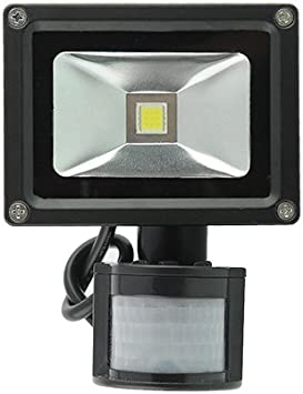 amzdeal® Foco proyector 20W blanco cálido, Foco exterior, Foco ...