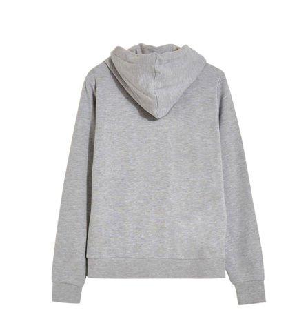 Sweatshirt ˆ capuche Oops ! Gris