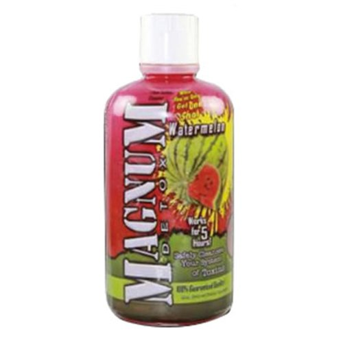 10 Pack - Magnum Detox Cleanser 32 Fl Oz Watermelon Flavor with Free Im Baked Bro and Doob Tubes Sticker by Magnum