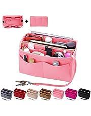 Purse Organizer Insert, Felt Bag organizer with zipper, Handbag & Tote Shaper, For Speedy Neverfull Tote, 5 Sizes