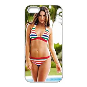 iPhone 5 5s Cell Phone Case Covers White alyssa Miller Elle Italia Phone Case Cover Durable Protective XPDSUNTR06919