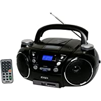 Jensen CD-750 Portable Boombox CD Player AM/FM Radio W/MP3 Encoder/Player Aux-in Electronic Accessories