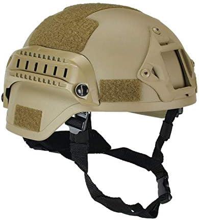 wildlead Militaire Tactique Mich 2000 Casque Arm/ée Combat T/ête Protecteur Airsoft Wargame Paintball Field Gear Accessoires