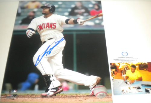 Carlos Santana Cleveland Indians Autographed Signed 8x10 Photo Picture 1
