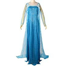 Eyekepper Cosply Snow Queen Elsa Dress Costume Adult