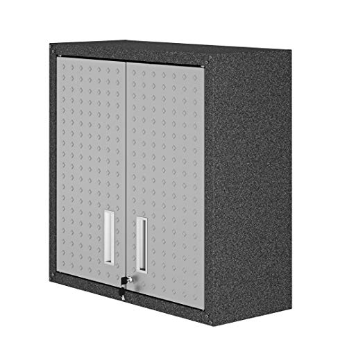 Manhattan Comfort Fortress Collection Modern Designed Floating Storage Garage Cabinet