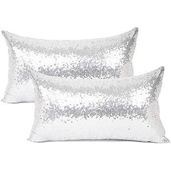 Amazon Com Aitliving Sequins Star Pillow Cover Coastal