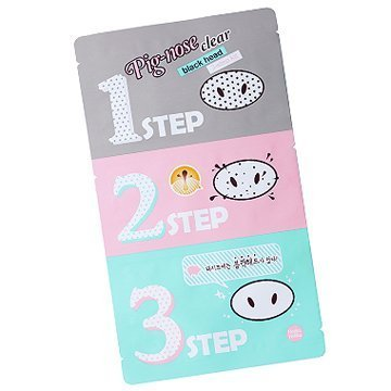 [Holika Holika] Pig Nose Clear Black Head 3-Step Kit (Pig Nose Clear Blackhead 3 Step Kit)