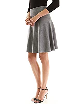 PattyBoutik Women's Fit and Flare Knit Sweater Skirt