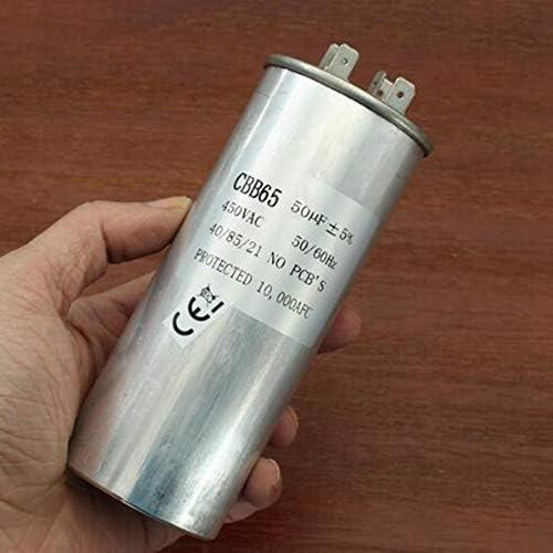 A LaDicha Condensateur de D/émarrage de Compresseur du Climatiseur CBB65 450VAC de Moteur de 15-50uF 15uF