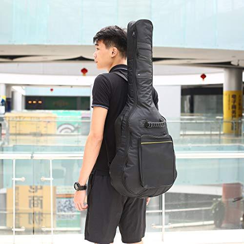 l'eau coton sac sac avec guitare électrique imperméable à guitare à de Gig noir à dos rembourré guitare bretelles sac étui Guitare wFOE4q