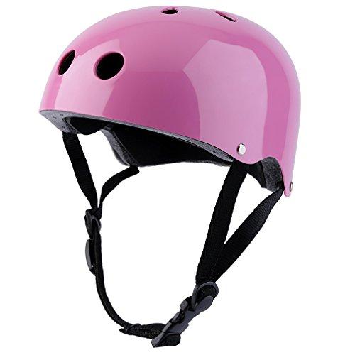 Image of the Kids Helmet, OUTAD Hiking Helmet Multi Outdoor Sport Helmet Impact Resistance Safe Helmet Protective Head Guard For Children (Pink, S)