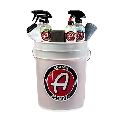 Adam's Mystery Car Wash Bucket – Premium Car Care Chemicals & Products With a Minimum $120 Value