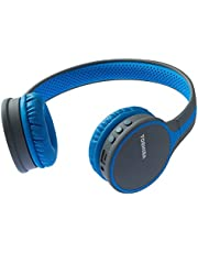 Toshiba Wireless Stereo Headphone - Blue