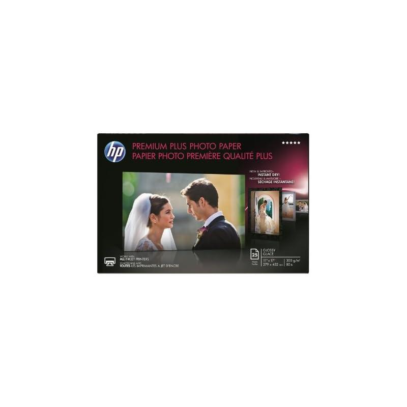 HP Premium Plus Photo Paper, Glossy, 11x
