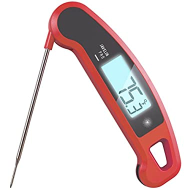 Ultra-High Performance Professional Digital Food/BBQ/Meat Thermometer - Lavatools Javelin PRO (Chipotle)
