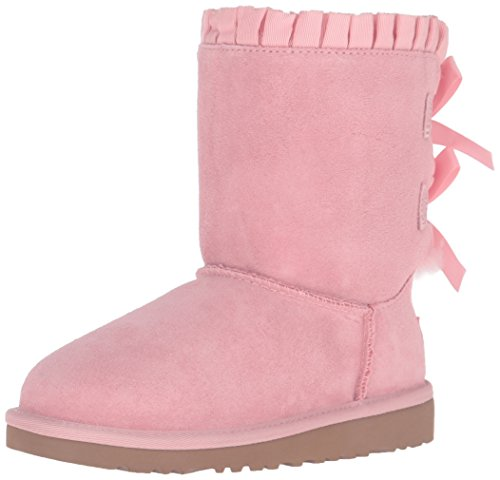 UGG Kids Girls' Bailey Bow Ruffles (Toddler/Little Kid), Baby Pink, 7 M]()