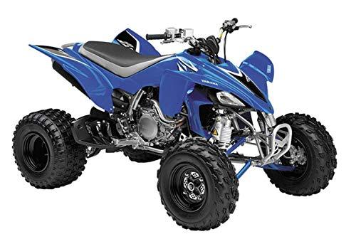 12 Scale Atv - New Ray Die Cast 08 Yamaha YFZ450 ATV Replica 1:12 Scale Blue