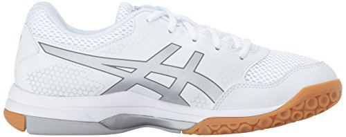 visa payment Asics Womens Gel-Rocket® 8 Shoes White/Silver/White cheap newest 3SdVL