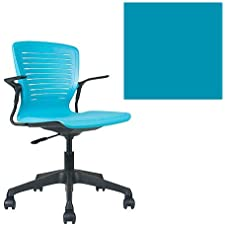 Office Master OM5 Active Collection OM5-AT Ergonomic Active Tasker Chair - Cantilever Armrests - PolyFlex Shell Sapphire Blue (PS) PLUS Free Ergonomics eBook