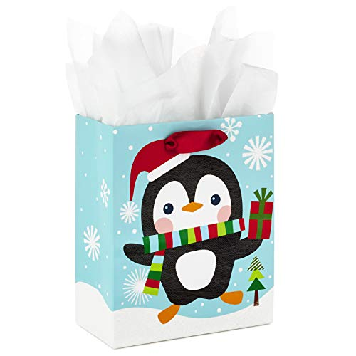ay Gift Bag with Tissue Paper (Penguin) ()
