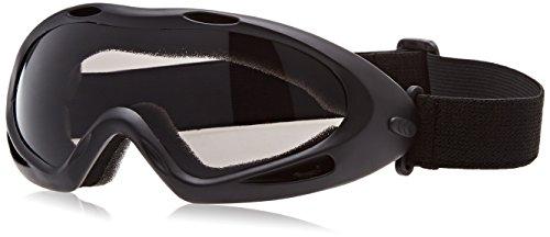 Highlander Boys Anaconda Paintball / Airsoft Padded Safety Goggles noir - Noir