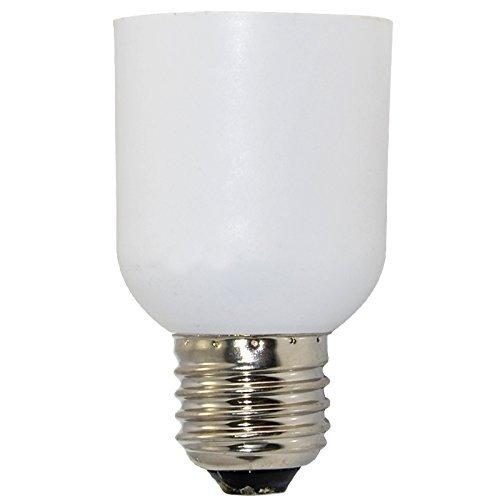 Generic E26 MEDIUM Edison - E39 MOGUL Base Light Bulb Enlarger Socket Converter Adapter WHITE