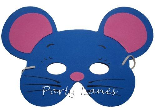 8 Assorted Foam Animal Masks (máscara/careta): Amazon.es: Juguetes y juegos