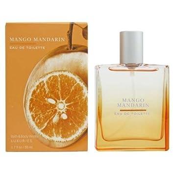 Bath Body Works Mango Mandarin Luxuries Eau de Toilette 1.7 oz 50 ml
