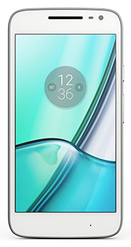 Moto G Play, 4th Gen (White, VoLTE)