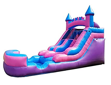 Amazon.com: Pogo Bounce House - Deslizador de agua hinchable ...