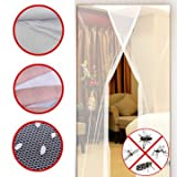 gazebo curtains diy Opposing Earnings - 24x83 Inch 2pcs Diy Anti Mosquito Pest Window Curtain Net Mesh Door Sheer Protector - Profit Lucre Meshwork Counteractive Opposed Final Sack Income