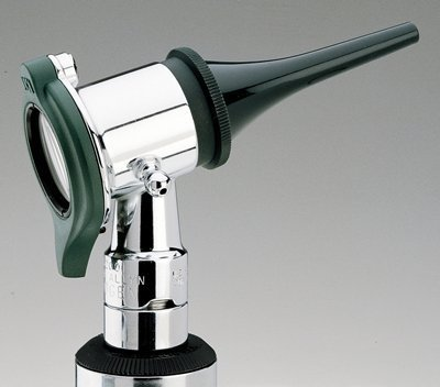 Welch Allyn 20260 3.5V Halogen Hex Veterinarian Pneumatic Otoscope with Reusable Ear Specula Set, Power Handle Not Included by Welch Allyn