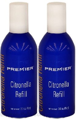 Gentle spray citronella refill pack of 2