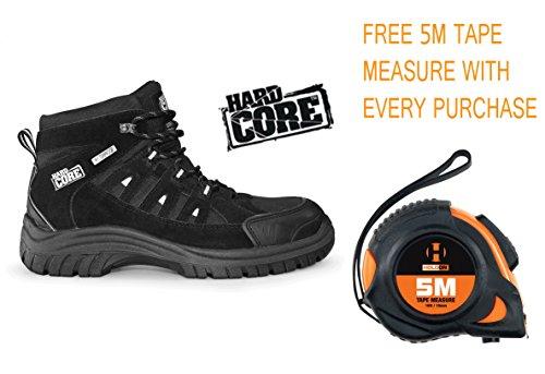 rigide Core par Scruffs Marine Hiker Bottes de sécurité travail imperméable Bout En Acier