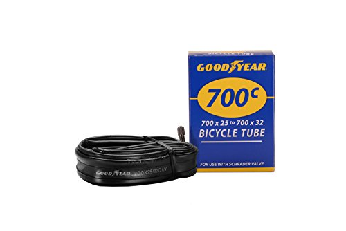 Schrader Valve Inner Tube - Goodyear Bicycle Tube, 25/32c